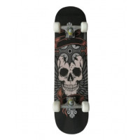 Gördeszka MASTER Extreme Board Skateboard - Skull
