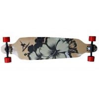 SPARTAN Surf Black Longboard gördeszka