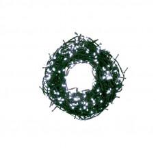 Kültéri/beltéri fénydekoráció 12,5 m 500 LED OKEJ Bulinex - hideg fehér Előnézet