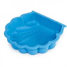 Kagyló homokozó 87 x 77,7 x 18 cm - kék Inlea4Fun Előnézet