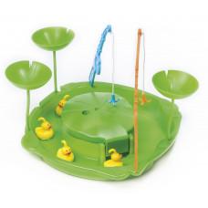 Duck Fishing Games - Vizes horgász játék zöld Inlea4Fun Előnézet