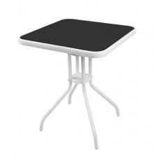 Linder Exclusiv kerti asztal BISTRO MC33081WB 60x60x70 cm Előnézet
