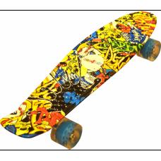 Gördszedka Aga4Kids Skateboard - Skull Előnézet