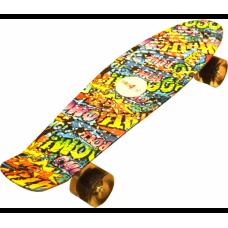 Gördszedka Aga4Kids Skateboard - Graffiti Előnézet