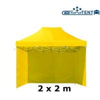 AGA kerti sátor 3O POP UP 2x2 m - Sárga