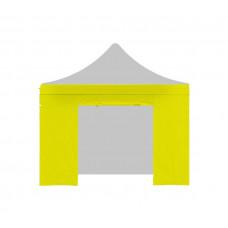 Aga oldalfal ajtóval POP UP 3x3 m - Sárga Előnézet