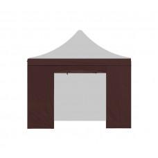 AGA oldalfal bejárattal kerti sátorhoz 3x3 m - Barna Előnézet