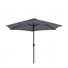 AGA Classic 400 cm napernyő - Sötét szürke Előnézet