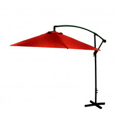 AGA EXCLUSIV Bony 300 cm függő napernyő - Sötét piros Előnézet