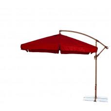 Függő napernyő  300 cm AGA EXCLUSIV Garden - Sötét piros Előnézet