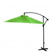 AGA EXCLUSIV Bony 300 cm függő napernyő - Világos zöld Előnézet
