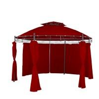 LINDER Exclusiv kerti pavilon - Sötét piros