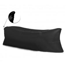 AGA felfújhatós Relax zsák LAZY BAG - fekete Előnézet