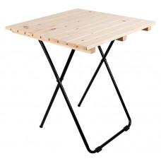 Kerti asztal Linder Exclusiv MC4711 45 x 50 x 45 cm - natúr Előnézet
