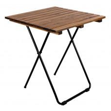 Kerti asztal Linder Exclusiv MC4712 45 x 50 x 45 cm - barna Előnézet