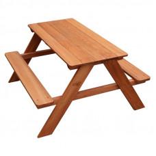 Kerti gyerek piknik asztal Axi DAVE  Előnézet
