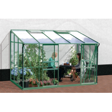 VITAVIA IDA üvegház 6500 PC 6 mm - Zöld Előnézet
