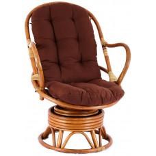 Aga PARUS rattan fotel - Honey Dark Brown Előnézet