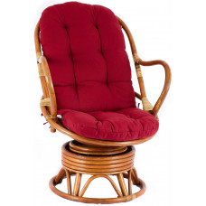 Aga PARUS rattan fotel - Honey Maroon Előnézet
