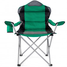Tresko kemping szék CPS-003 - Zöld Előnézet