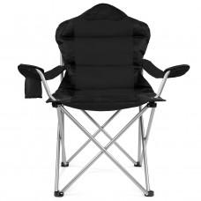 Tresko kemping szék CPS-005 - Fekete Előnézet