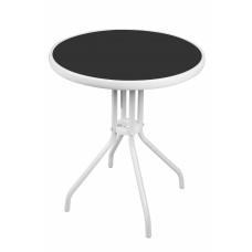 Linder Exclusiv BISTRO MC330850WB kerti asztal 70 cm x Ø60 cm