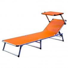 Linder Exclusiv GARDEN KING MC372310O napozóágy - Narancssárga