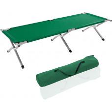 Tresko összecsukható kemping nyugágy XL FB-005 - Zöld Előnézet