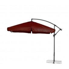 AGA EXCLUSIV Garden 300 cm függő napernyő - Sötét barna Előnézet