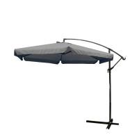 AGA EXCLUSIV Garden 300 cm függő napernyő - Sötét szürke