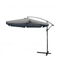 AGA EXCLUSIV Garden 300 cm függő napernyő - Sötét szürke Előnézet