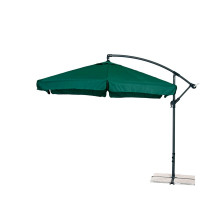 Függő napernyő  300 cm AGA EXCLUSIV Garden - Sötét zöld