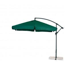 AGA EXCLUSIV Garden 300 cm függő napernyő - Sötét zöld Előnézet