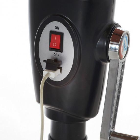 Aga CLASSIC 300 cm napernyő LED + USB - bézs