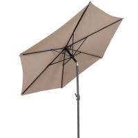 Napernyő dönthető Linder Exclusiv KNICK 300 cm - Taupe szürkésbarna