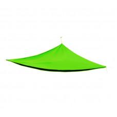 AGA Háromszög alakú árnyékoló, napvitorla 5 x 5 x 5 m - Világos Zöld Előnézet