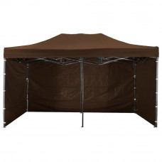 AGA kerti sátor 3O POP UP 3x6 m - Barna Előnézet