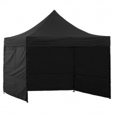 AGA kerti sátor 3O POP UP 3x3 m - Fekete Előnézet