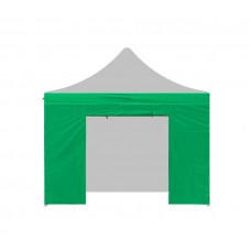 Aga oldalfal ajtóval POP UP 4,5 m - Zöld Előnézet