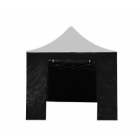 Aga oldalfal ajtóval POP UP 3x3 m - Fekete