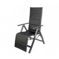 Alumínium kerti szék Linder Exclusiv Venezia - Fekete - MC372218