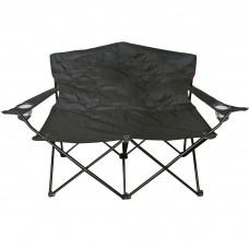 Kétszemélyes kemping szék Linder Exclusiv ANGLER MC2505 - Fekete Előnézet
