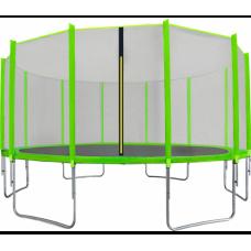AGA SPORT TOP 500 cm trambulin - Világos zöld