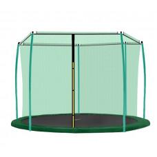 AGA belső védőháló 366 cm átmérőjű trambulinhoz 8 rudas - Sötét zöld Előnézet