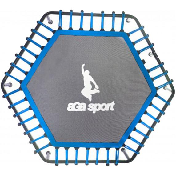 Ugrófelület 130 cm átmérőjű fitness trambulinhoz AGA - kék
