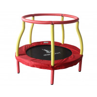 Aga gyerek trambulin 116 cm - Piros/sárga