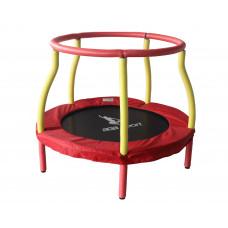 Aga gyerek trambulin 116 cm - Piros/sárga Előnézet