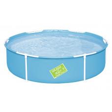 BESTWAY 56283 Splash and Play fémvázas medence 152 x 38 cm  Előnézet