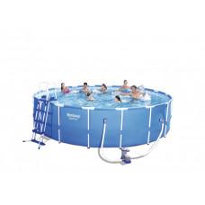 BESTWAY 56462 Steel Pro 549x122 cm medence vízforgatóval  Előnézet