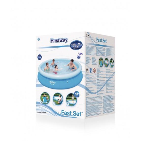 BESTWAY 57274 Fast Set 366x76 cm medence vízforgatóval